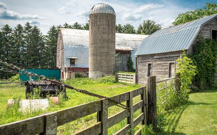 scenic view of a farm
