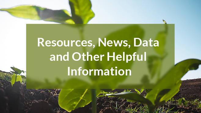 resources, news, data and other helpful information