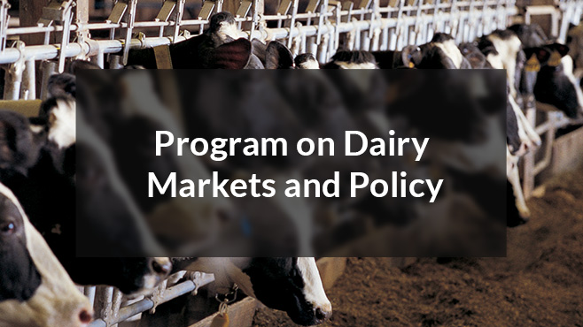 Program on Dairy Markets and Policy