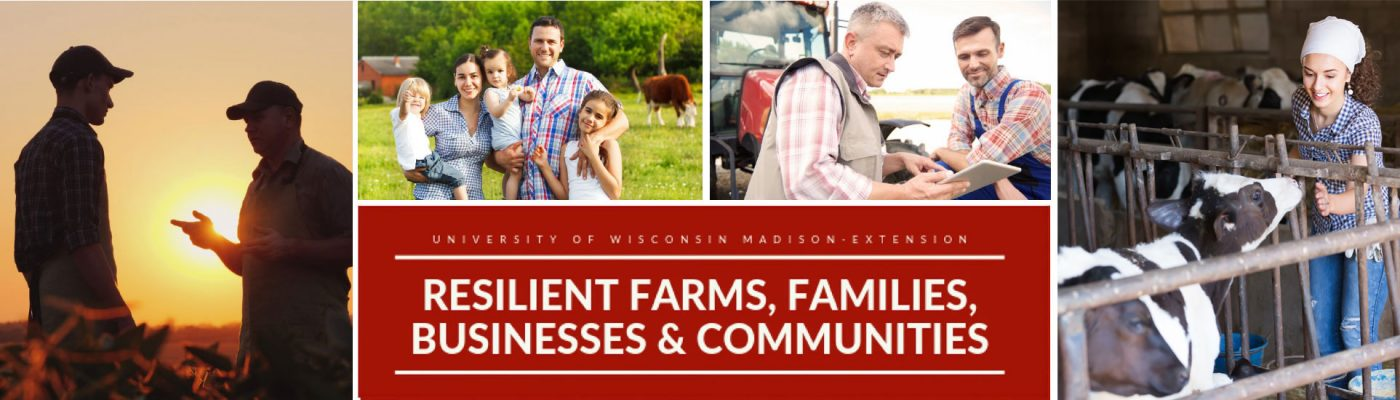 Resilient Farms, Families, Businesses, and Communities banner