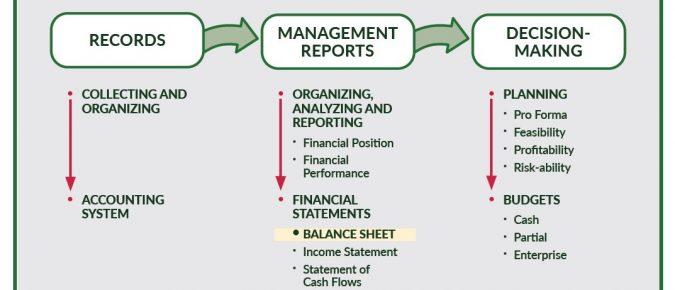 Preparing a Balance Sheet